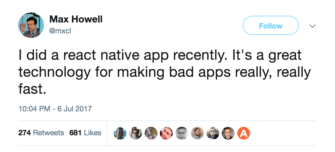 Build a bad app really fast